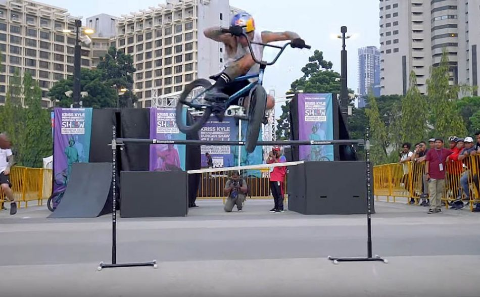 Kriss Kyle and Duncan Shaw - BMX and Trials in Indonesia