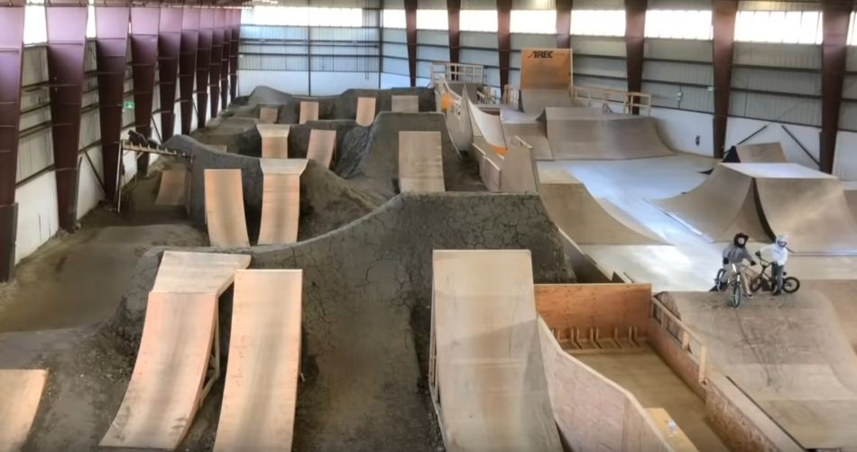 I love this place! Amazing Indoor BMX Bike Park! Air Rec Center In Canada! by BMX Caiden