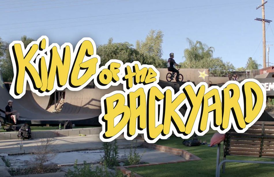 Dennis Enarson introduces - KING OF THE BACKYARD by Brakeless TV