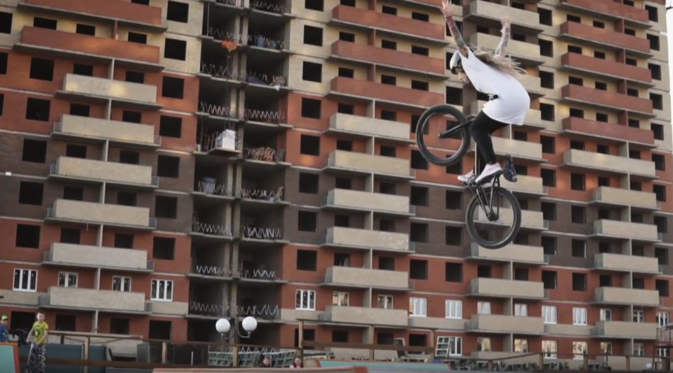 BIKECHECK - Lisa Posadskikh by РАЁН | TRUE BMX SHOP