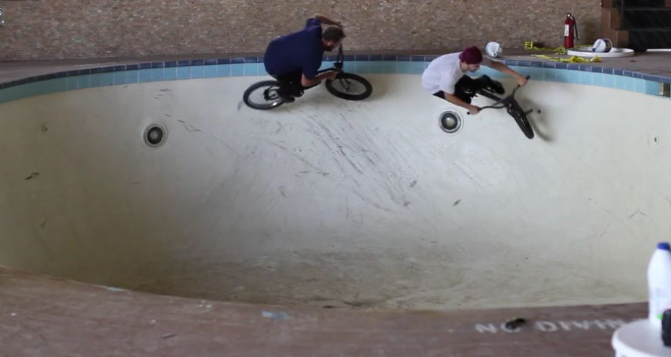 Abandoned hotel pool session from Toy Crew