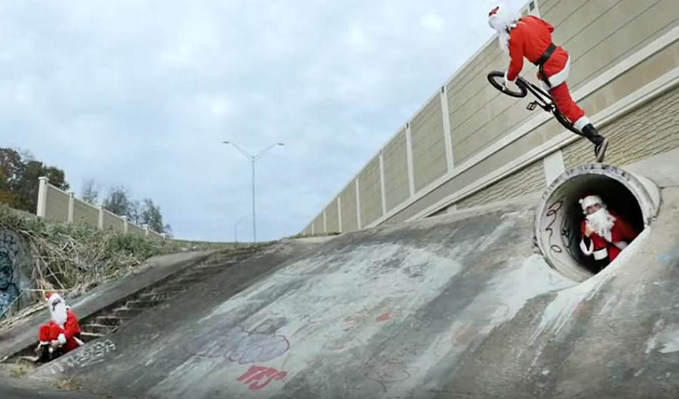 RAD SANTA (2019) | Sunday Bikes ft. Aaron Ross, Brett Silva, Ben Allen, Jared Duncan, and more | BMX
