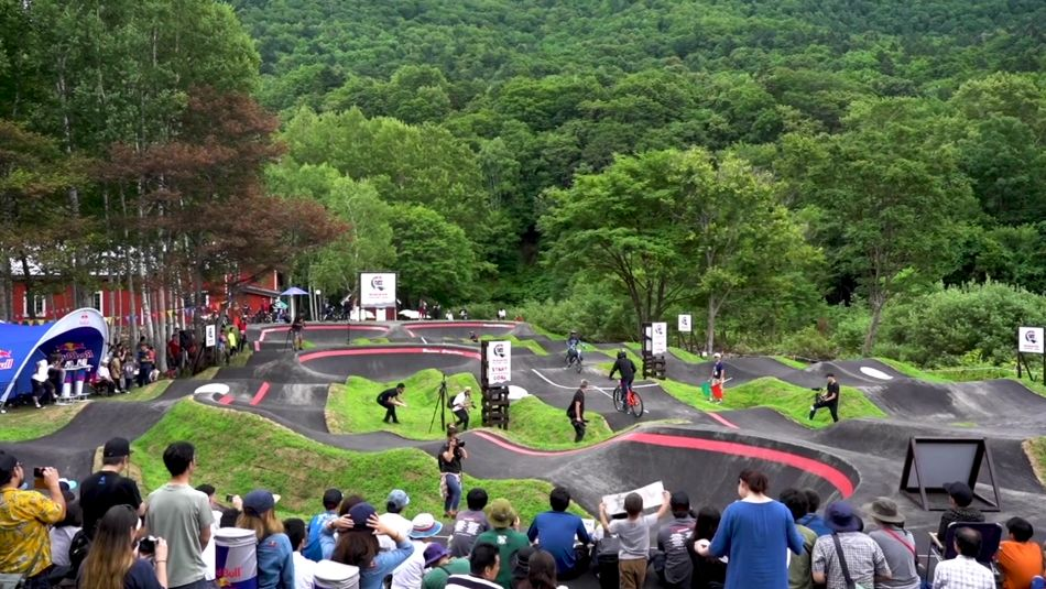 Red Bull Pump Track Championships in Japan | MnK Niseko