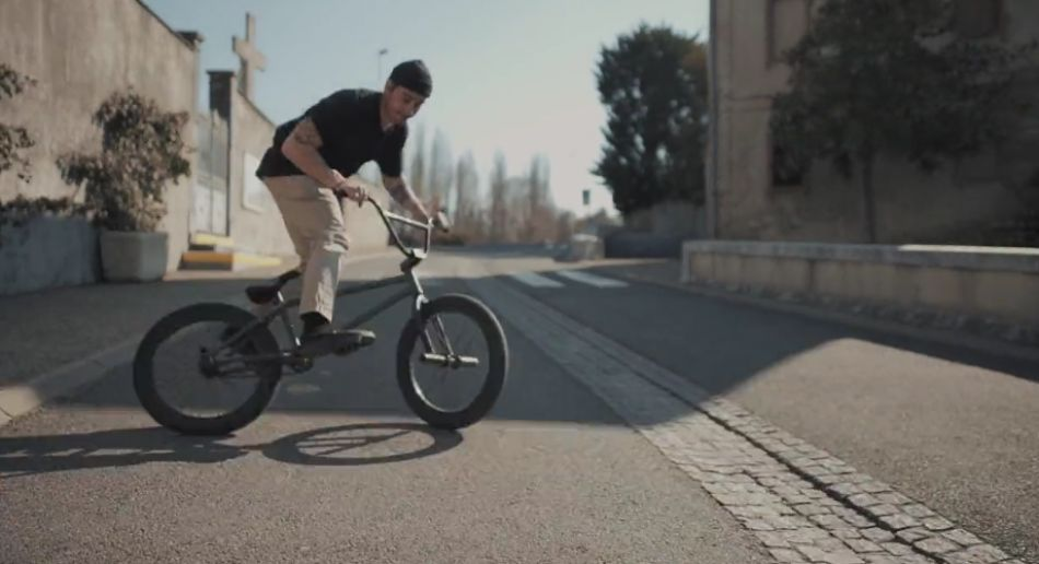 VANS BMX - Ben Gea welcome to the Team from Julien Peyrou