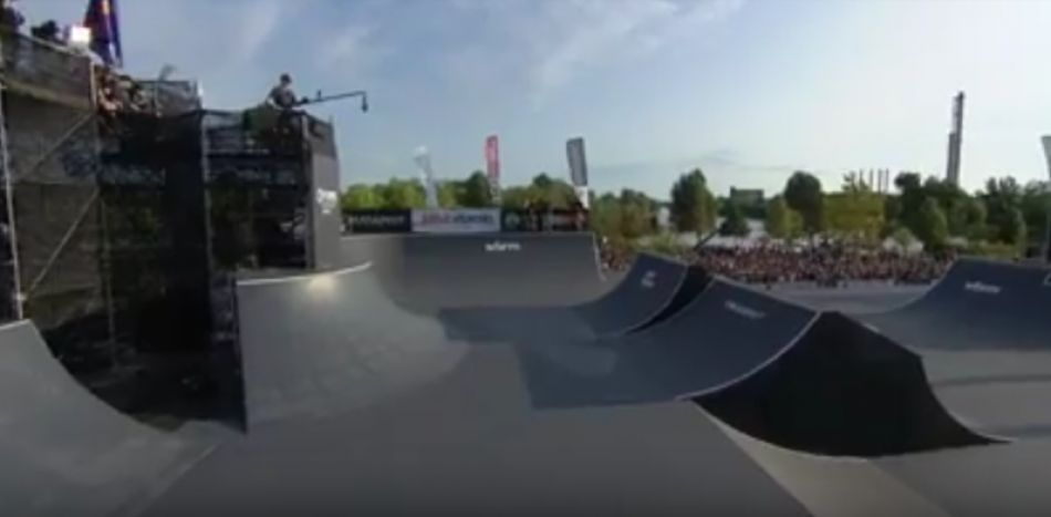 FISE Budapest 2017: UCI BMX Freestyle Park World Cup Men Final - REPLAY