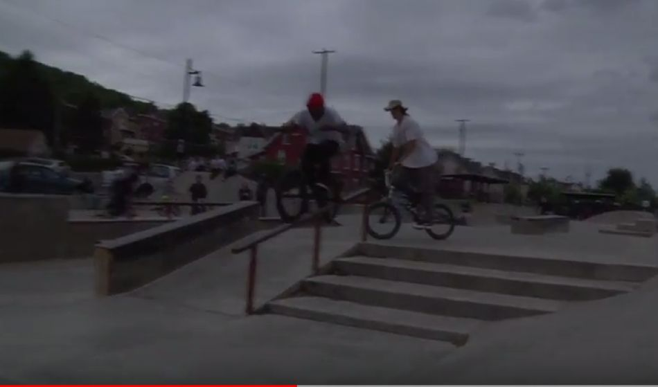 ACTION WHEELS BIKE SHOP x MERRITT BMX /// THE 4TH HOSED JAM by 2dodgy