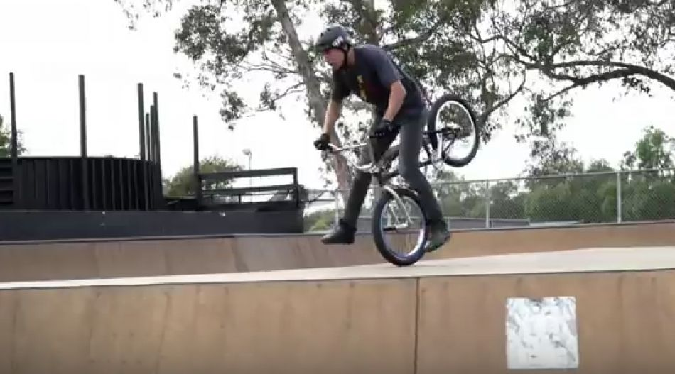 San Diego sessions with Victor Salazar - Colony BMX
