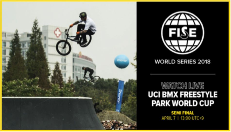 Live Feed: UCI BMX Freestyle Park World Cup Semi Final HIROSHIMA, JAPAN