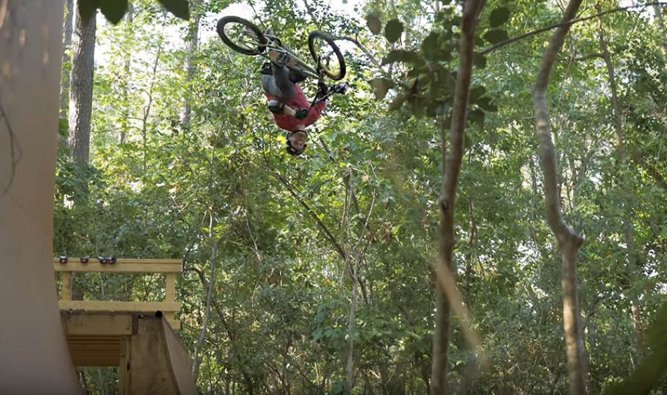 Ryan Nyquist Shreds his Backyard - Bell Helmets by Vital BMX