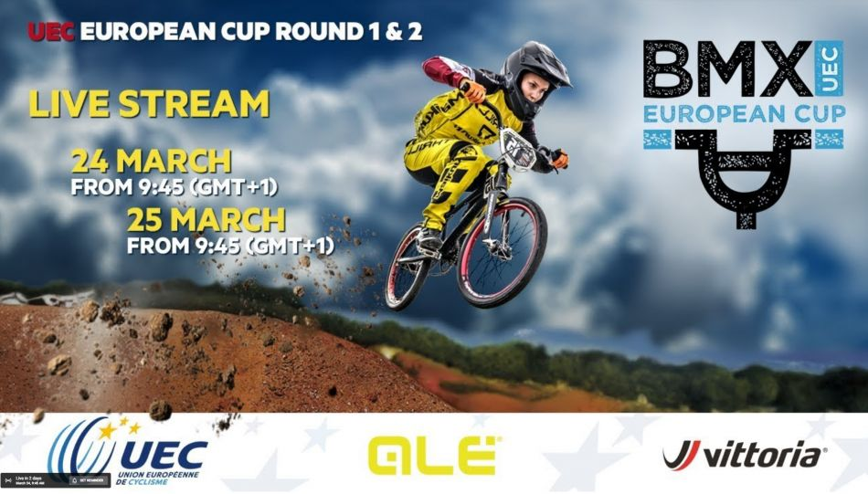 Live Feed: 2018 UEC BMX EUROPEAN CUP Rounds 1 & 2 – Verona (Italy)