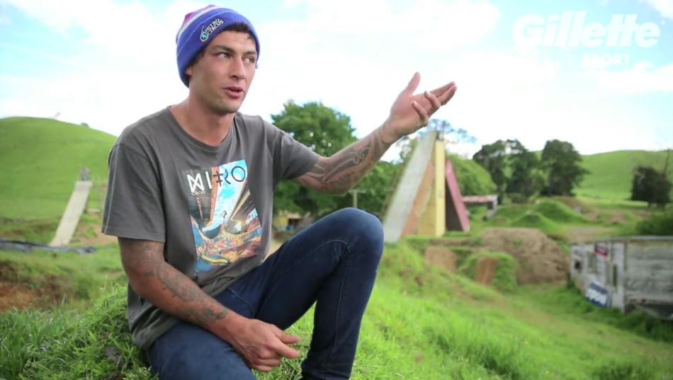Gillette World Sport: Jed Mildon and BMX from Claudia Corbisiero
