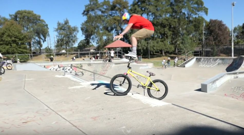 The craziest BMX trick ever by Sebastian Keep