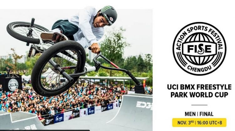 FISE CHENGDU 2019: UCI BMX Freestyle Park World Cup Men Final