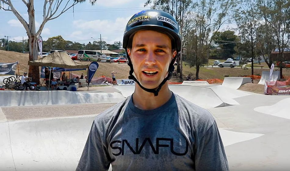 Logan Martin and Brandon Loupos at the Australian Nationals by Hyper BMX