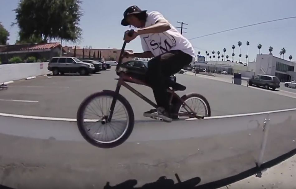 LA STREET NATIVE - JUSTIN SHORTY - S&M BMX