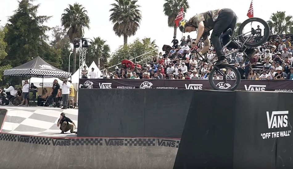 Dennis Enarson Qualifies First at Vans BMX Pro Cup: Mexico City by Vital BMX