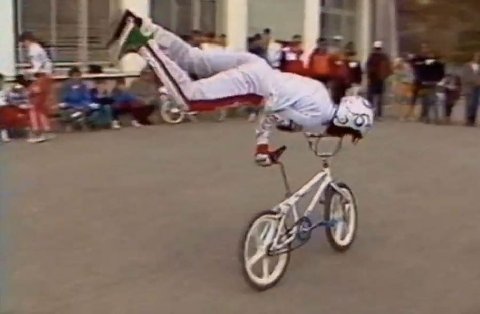 Championnat d'Europe bmx, Mours 1985 by Sylvain Billon