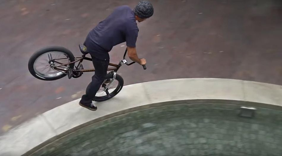 Downtown Bmx riding w/ Matt Ray & Maicol Monsalve by Matt Ray Bmx