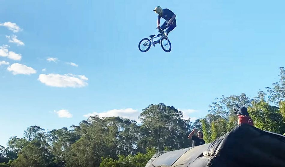 World First 360 Double Backflip Tailwhip on BMX! by Ryan Williams