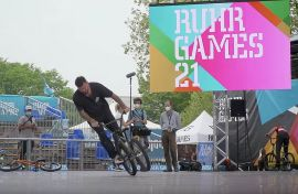 UEC European Flatland Championships at Ruhr Games 2021 in Bochum by freedombmx