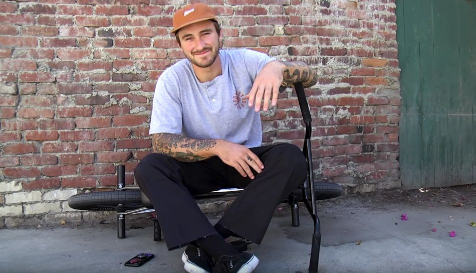 BMX / Catching up with Broc Raiford by Odyssey Bmx