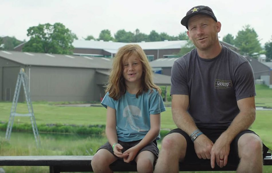 VIP: Ryan Nyquist Shreds Woodward PA with 8 Year Old Son Jameson