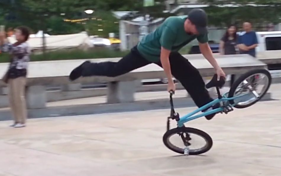 Bmx flatland Mark Harris 2018 by mharris