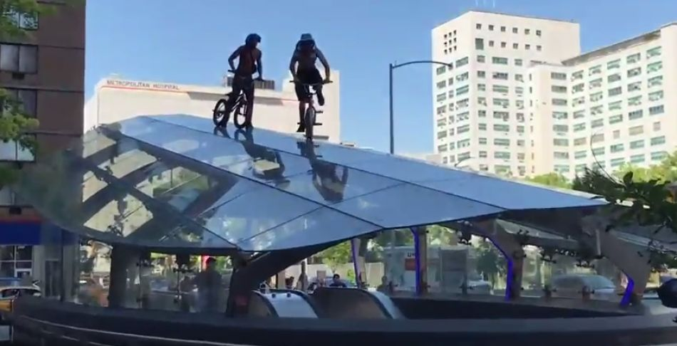 BMX JAM takes over NYC by Sam Downs