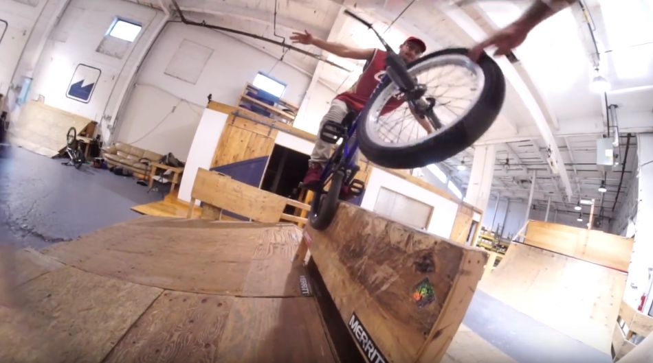 MERRITT BMX: IT RAINED
