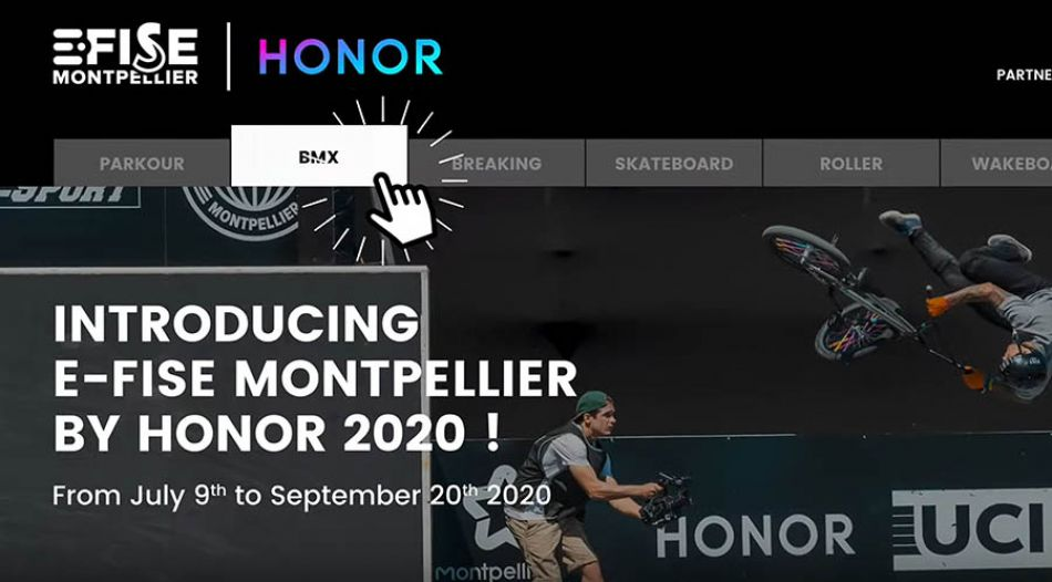 E-FISE Montpellier by HONOR | BMX Street