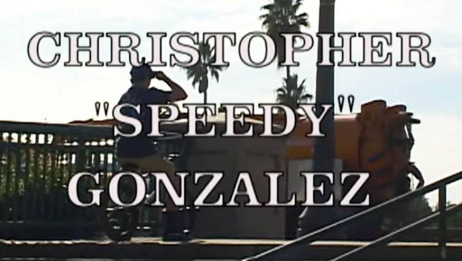 18 YEAR-OLD BMX STREET HEAT - CHRIS SPEEDY GONZALEZ