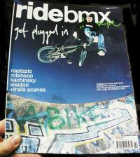RIDE BMX magazine number 83