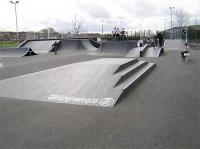 Skatepark in Coxhoe, UK