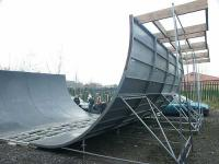 The Upton vert ramp outdoor