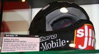 Mirra helmet at Bell booth
