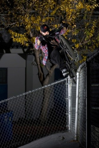 Icepick on the fence