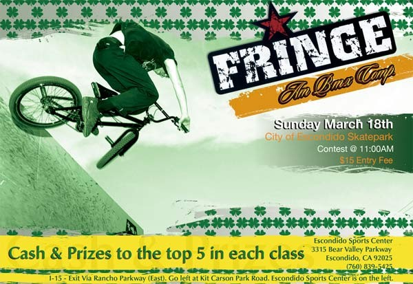 fringe comp flyer