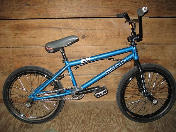 Steve McCann bike check