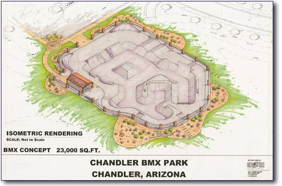Chandler bmx park overview
