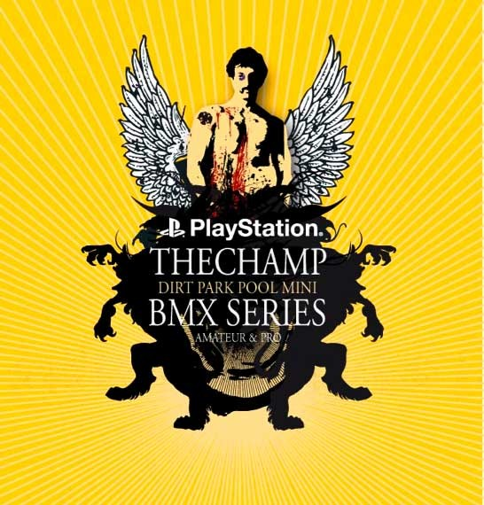 Playstation the Champ BMX series Germany