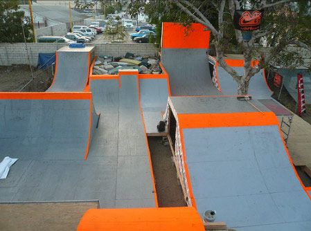 Backyard Bmx Ramps ben snowden's backyard