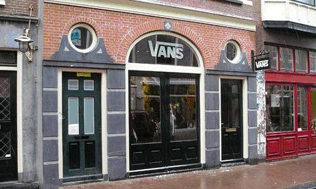 vans store amsterdam