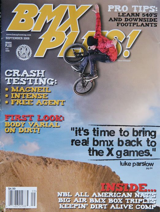 BMX Plus! magazine, September 2009