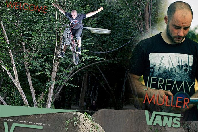 Vans France 2010 team announcement by Kang