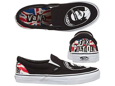 Vans Sex Pistols Slip-On d308a3be36
