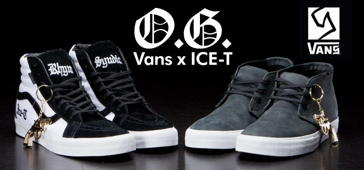 7802e050e5a764 LA. Home of the body bag. VANS x Ice-T collaboration project. Out now.