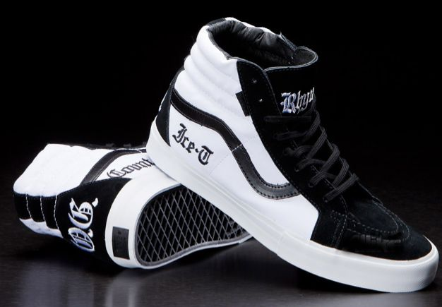 0f4bc5a4cb9b LA. Home of the body bag. VANS x Ice-T collaboration project. Out now.