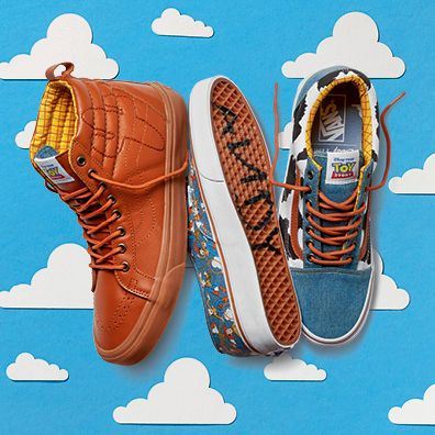 Vans X Toy Story Collaboration Shoes For All The Fans Out There